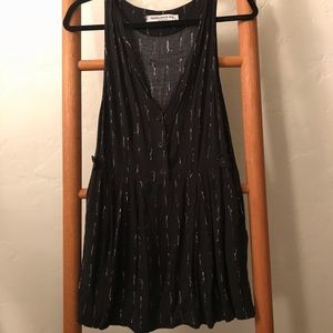 Something Else Natalie Wood Button Front MiniDress